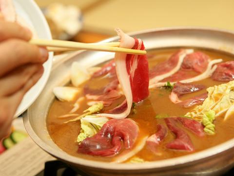 丹波篠山産天然牡丹鍋