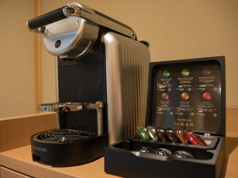 6種類の香りをお楽しみいただけるコーヒーメーカー