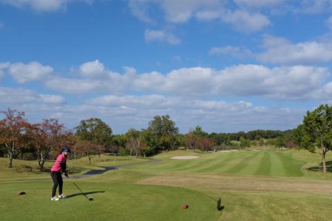 温泉とゴルフ