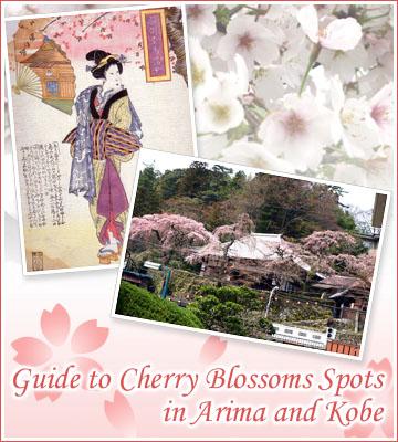有馬温泉と神戸の桜の名所